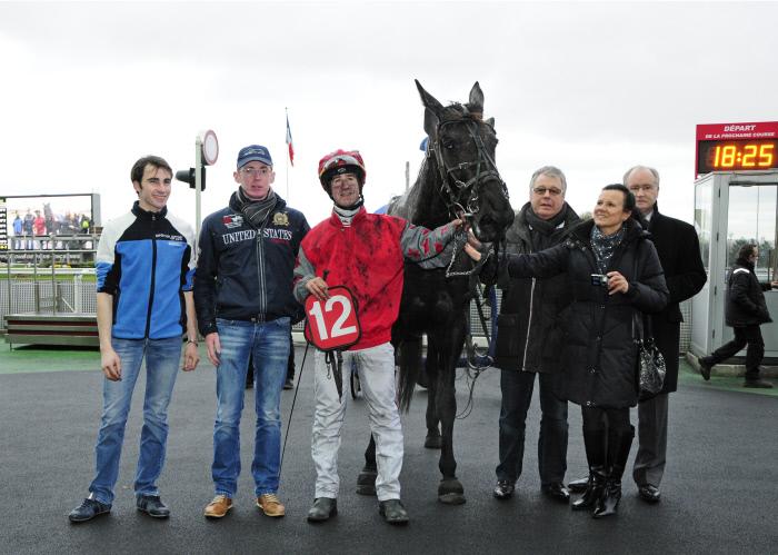 HIPPISME : Prix De Vittel- Vincennes - 5eme course - 28/01/2014